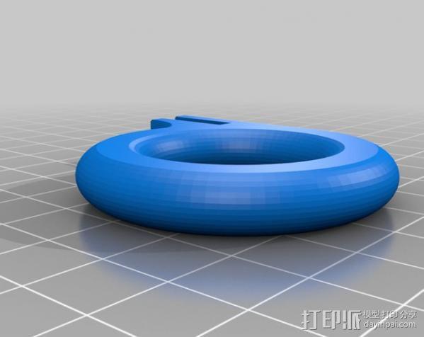 GoPro相机稳定器 3D模型  图5