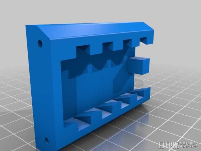 通用式手机三脚架 3D模型  图2