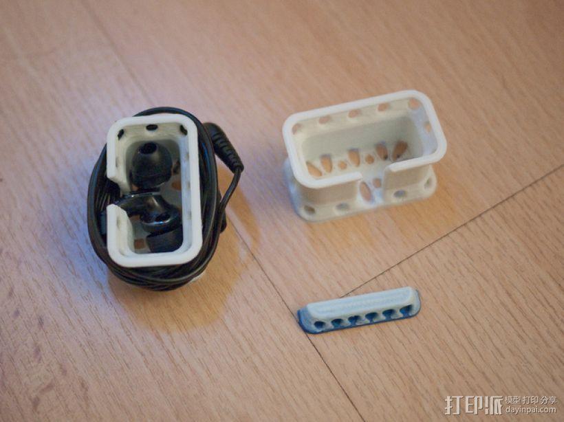 耳机收纳器 3D模型  图1