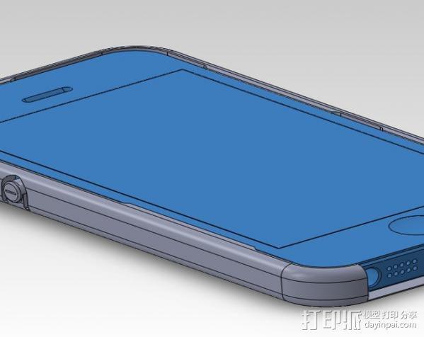 iPhone 5手机外壳 3D模型  图2