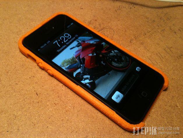 iPhone 5手机外壳 3D模型  图4
