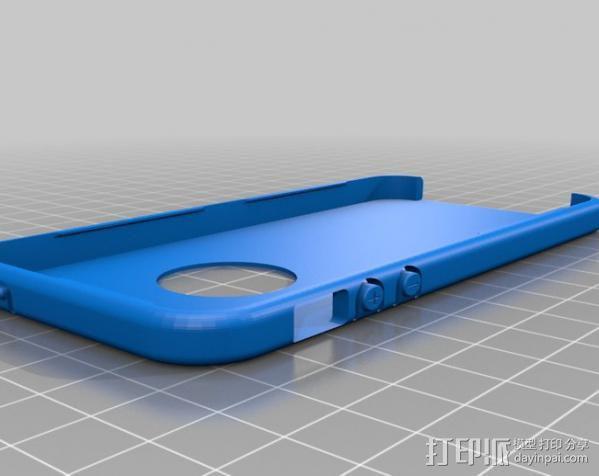 iPhone 5手机外壳 3D模型  图3