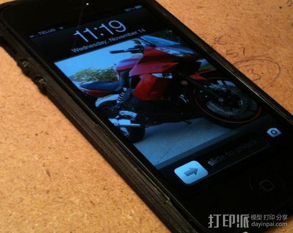 iPhone 5手机外壳 3D模型  图5