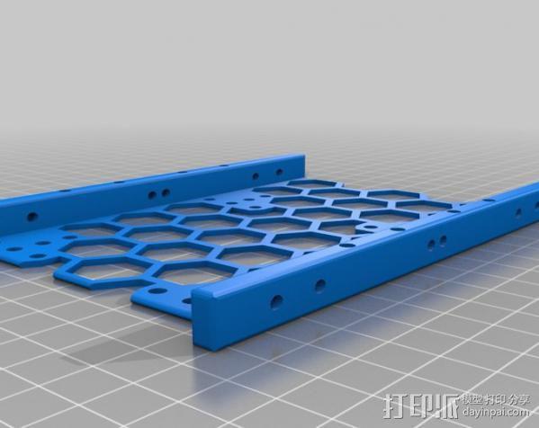 硬盘驱动适配器 3D模型  图2