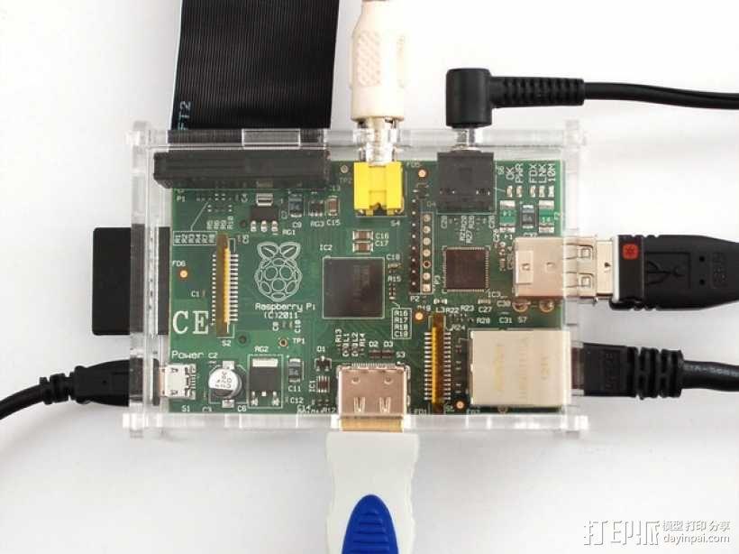 Adafruit Pi 外盒 3D模型  图3