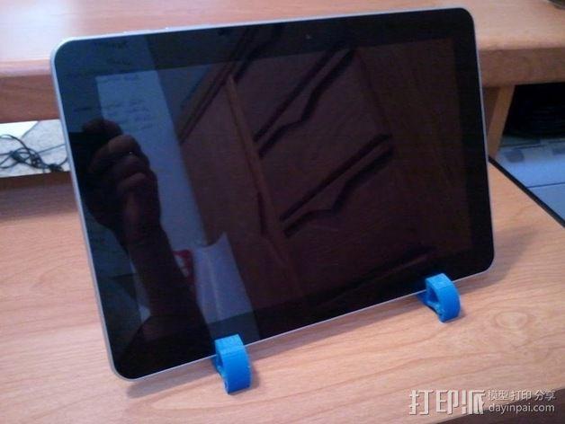 IPad / Samsung Galaxy 苹果/三星平板电脑支撑架 3D模型  图6