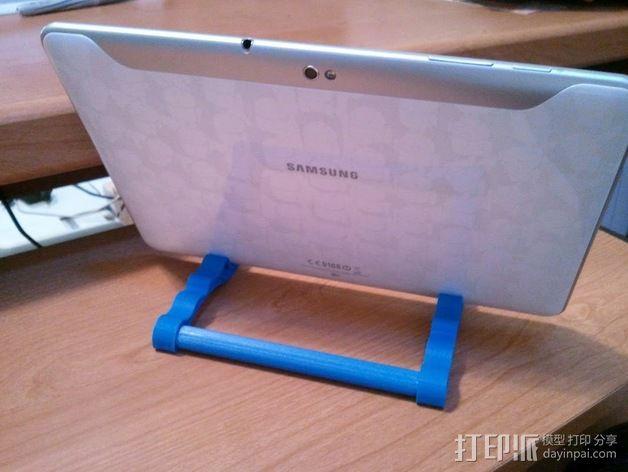 IPad / Samsung Galaxy 苹果/三星平板电脑支撑架 3D模型  图8