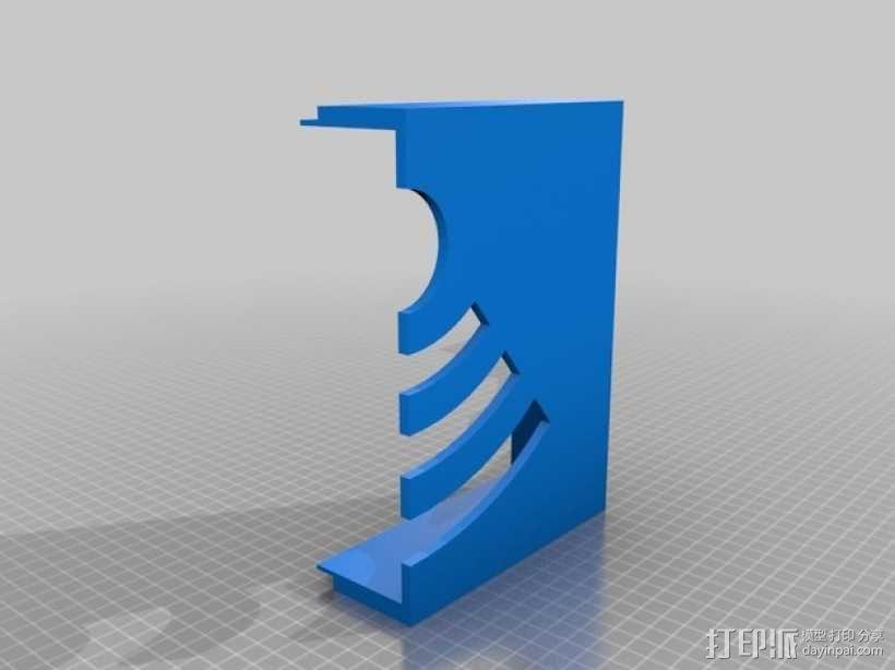 WiFi路由器外盒 3D模型  图3