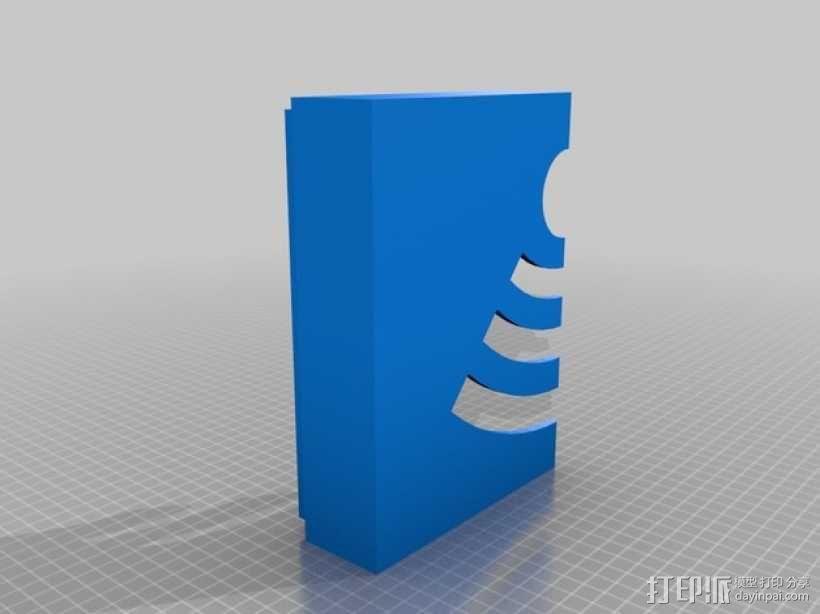 WiFi路由器外盒 3D模型  图4