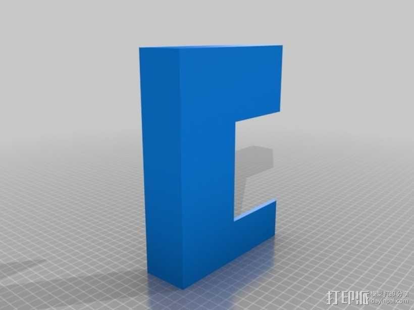 WiFi路由器外盒 3D模型  图5