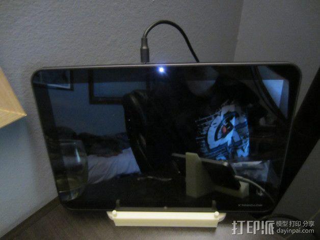 平板电脑支撑架 3D模型  图3