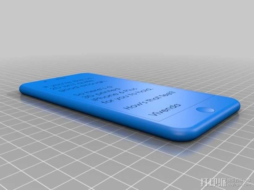 iPhone 6 / 6 plus手机模型 3D模型  图5