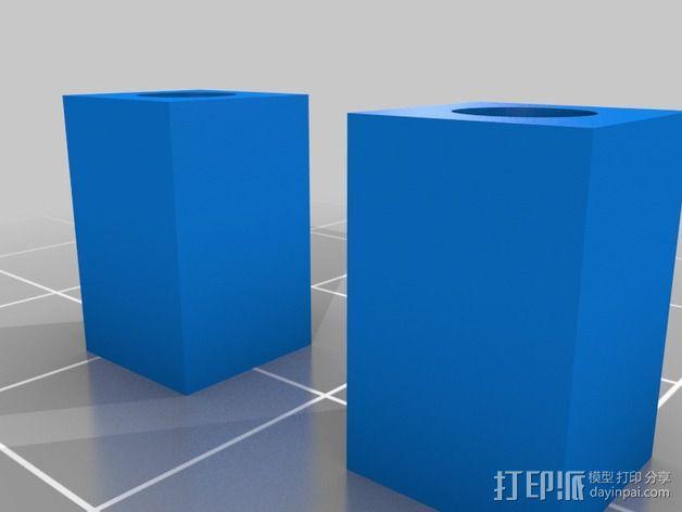 Commodore 64 & 128外盒 保护壳 3D模型  图2