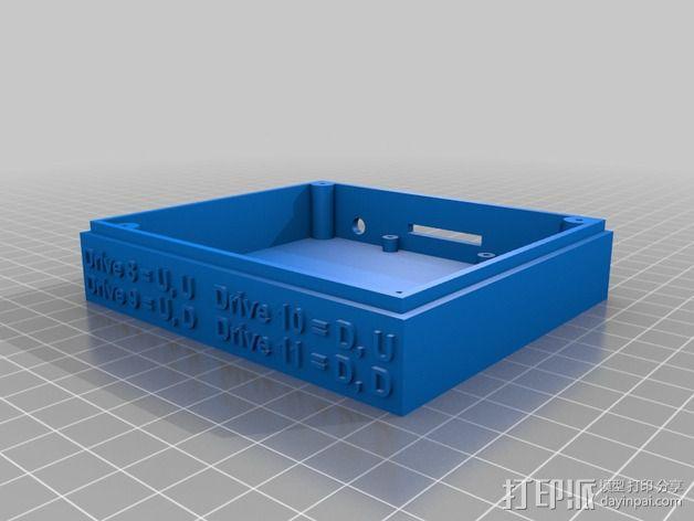 Commodore 64 & 128外盒 保护壳 3D模型  图4