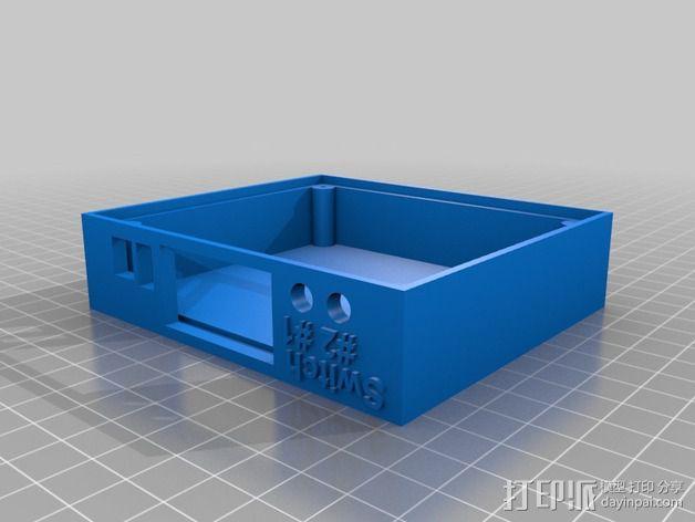 Commodore 64 & 128外盒 保护壳 3D模型  图3