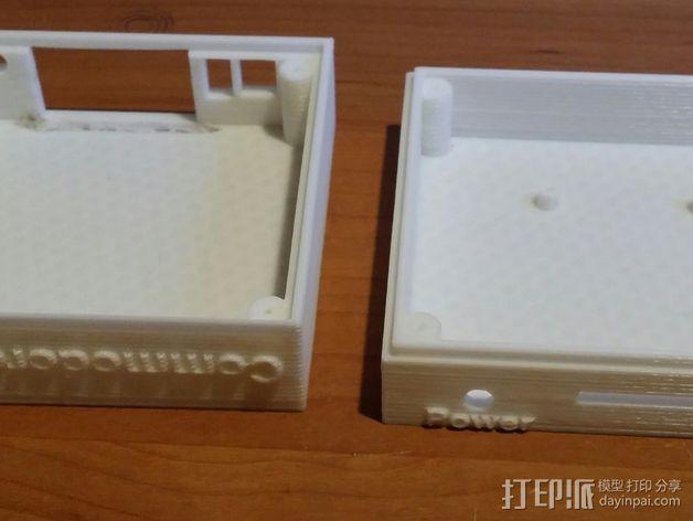Commodore 64 & 128外盒 保护壳 3D模型  图7