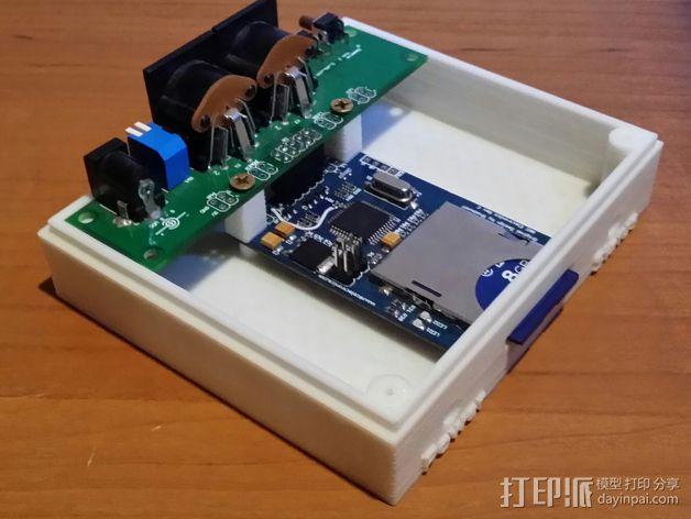 Commodore 64 & 128外盒 保护壳 3D模型  图6