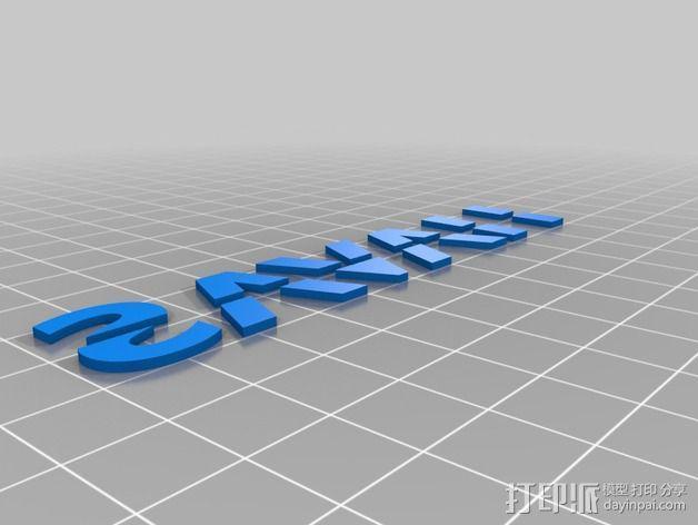 Iphone 5S 手机外壳 3D模型  图3