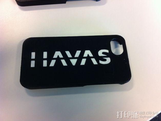 Iphone 5S 手机外壳 3D模型  图5