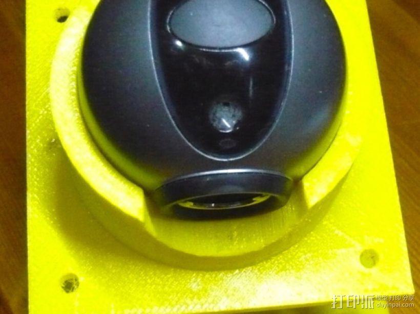 眼形摄像头底座 3D模型  图3