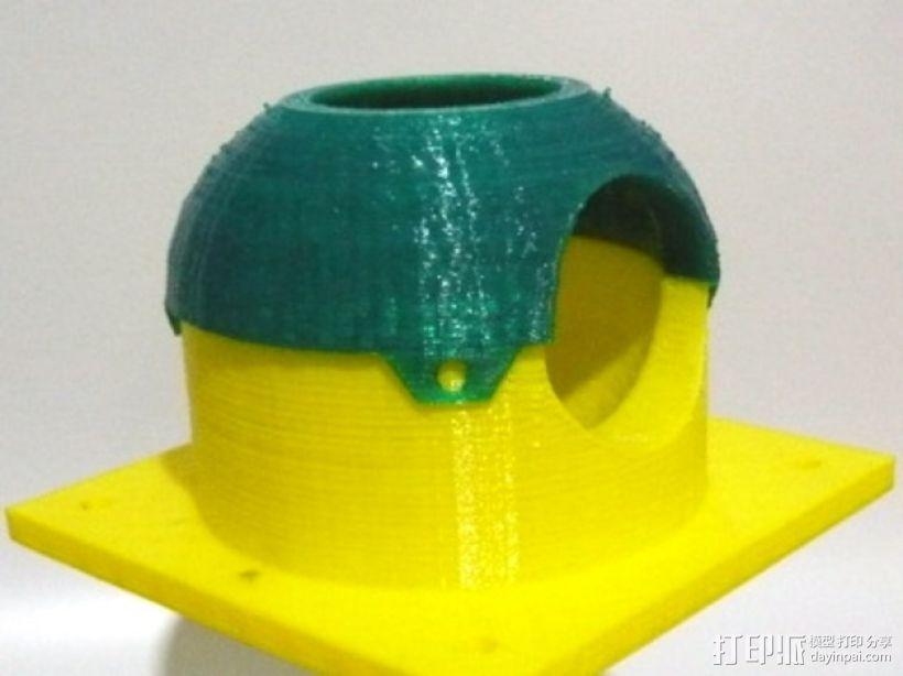 眼形摄像头底座 3D模型  图5