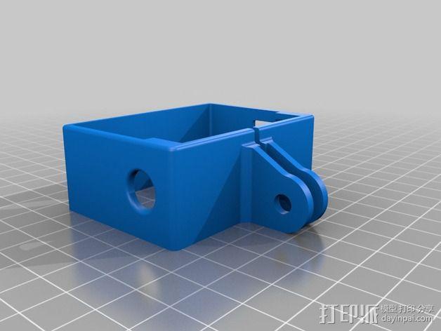 GoPro相机外框保护壳 3D模型  图1
