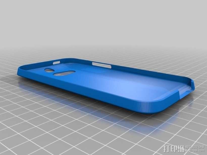 HTC One手机外壳 3D模型  图1
