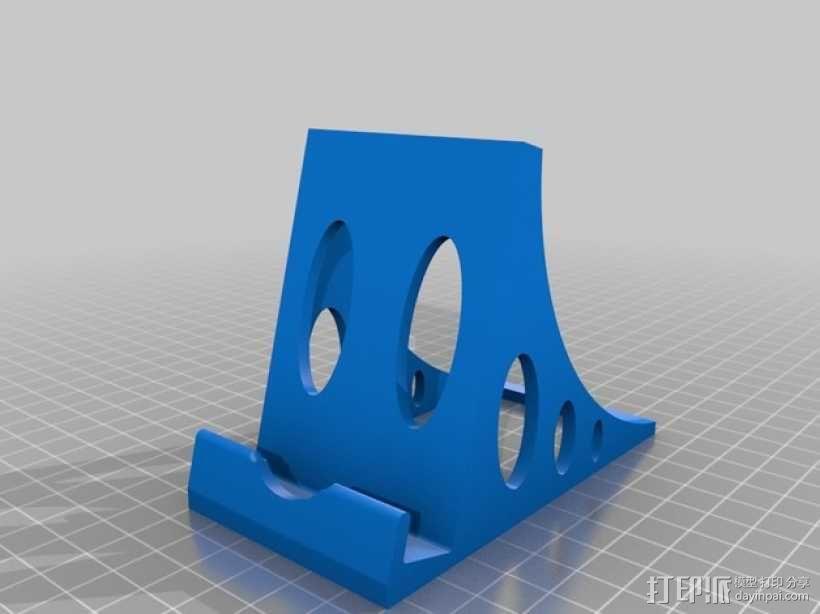 稳固的iPhone手机座 3D模型  图2