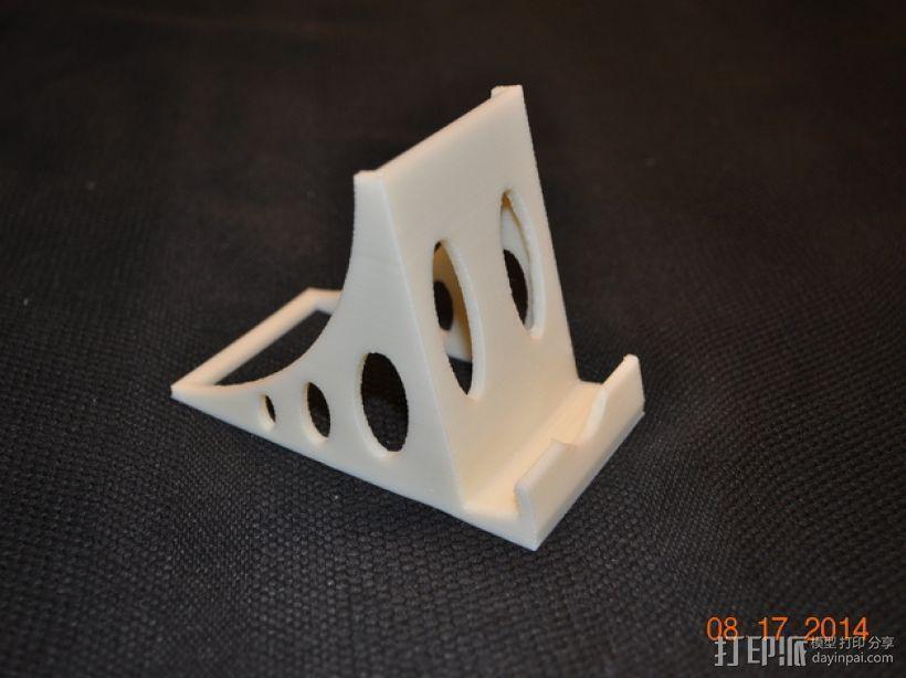 稳固的iPhone手机座 3D模型  图1