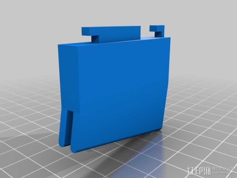 车载式HTC One手机支架 3D模型  图5