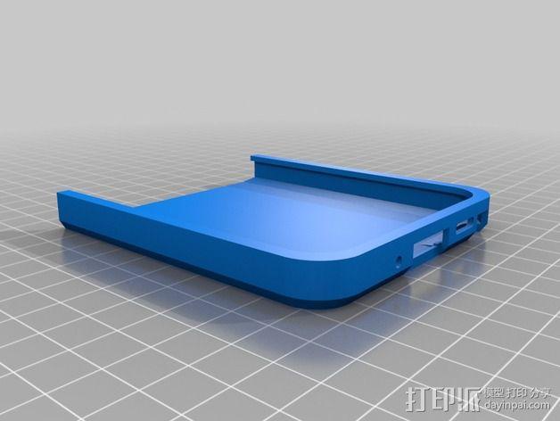 三星Galaxy Note 3手机外壳 3D模型  图2