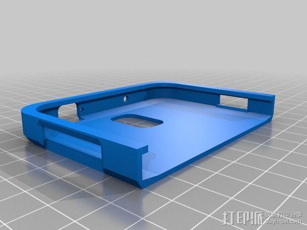 三星Galaxy Note 3手机外壳 3D模型  图3