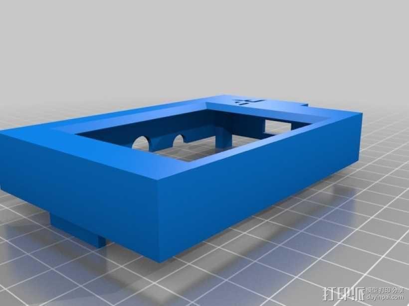 RickMote Controller遥控器盒子 3D模型  图2