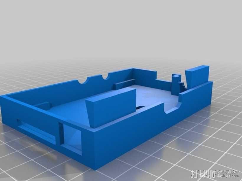 RickMote Controller遥控器盒子 3D模型  图3