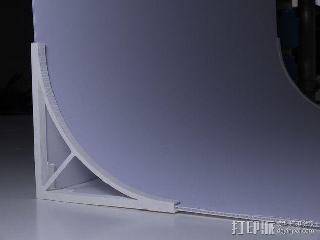 摄像机挡板底座 3D模型  图3