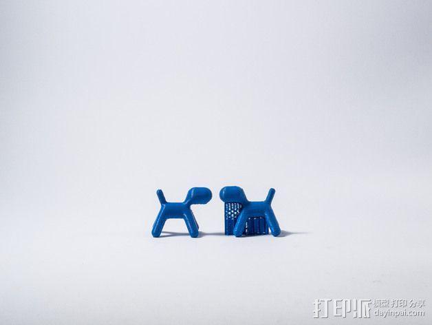 摄像机挡板底座 3D模型  图5