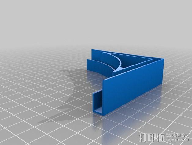 摄像机挡板底座 3D模型  图8