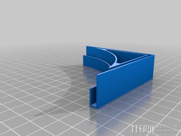 摄像机挡板底座 3D模型  图7