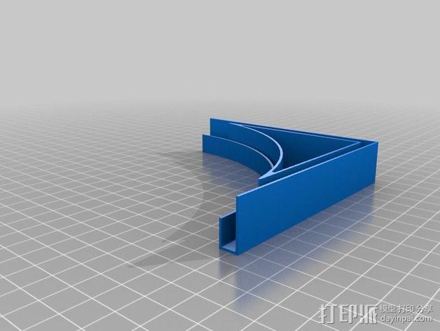 摄像机挡板底座 3D模型  图9