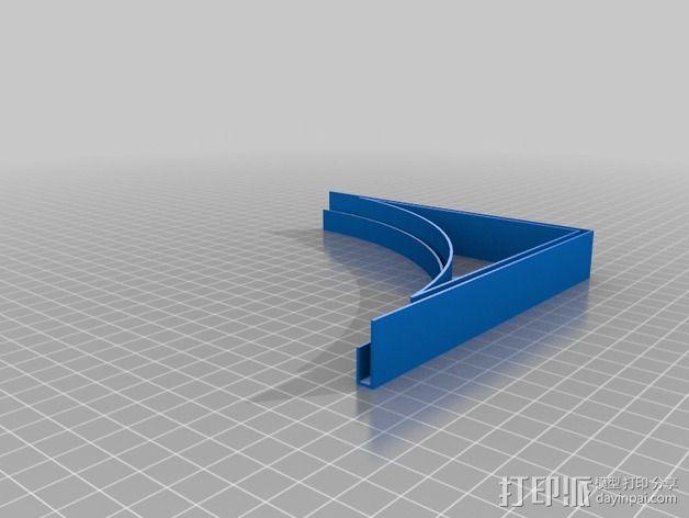 摄像机挡板底座 3D模型  图10