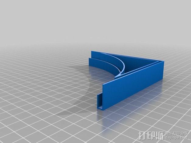 摄像机挡板底座 3D模型  图11