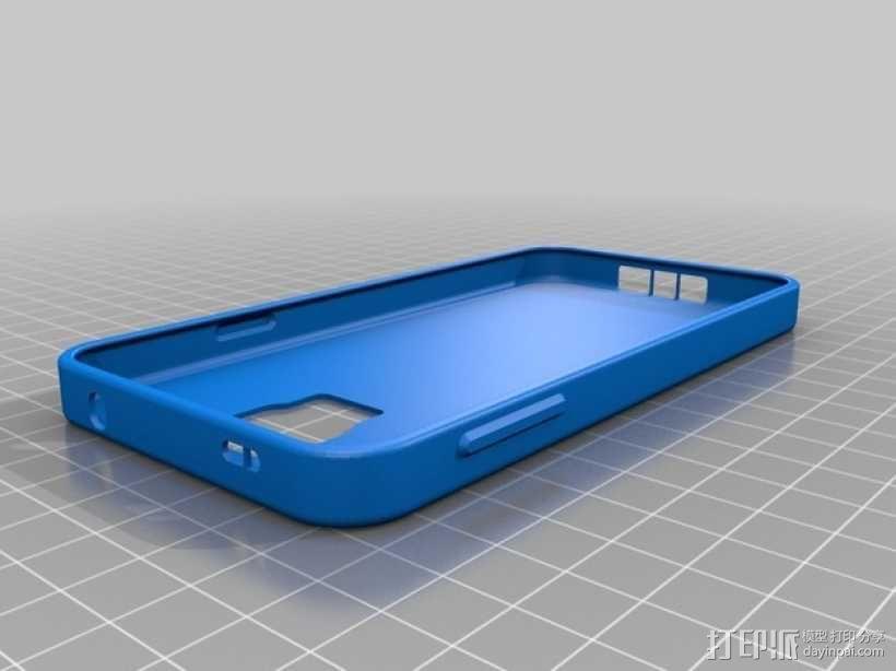 三星Galaxy s5手机外壳 3D模型  图1