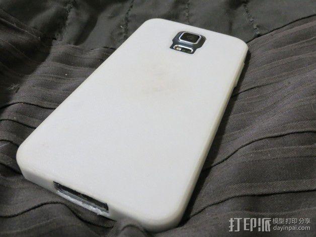 三星Galaxy s5手机外壳 3D模型  图4