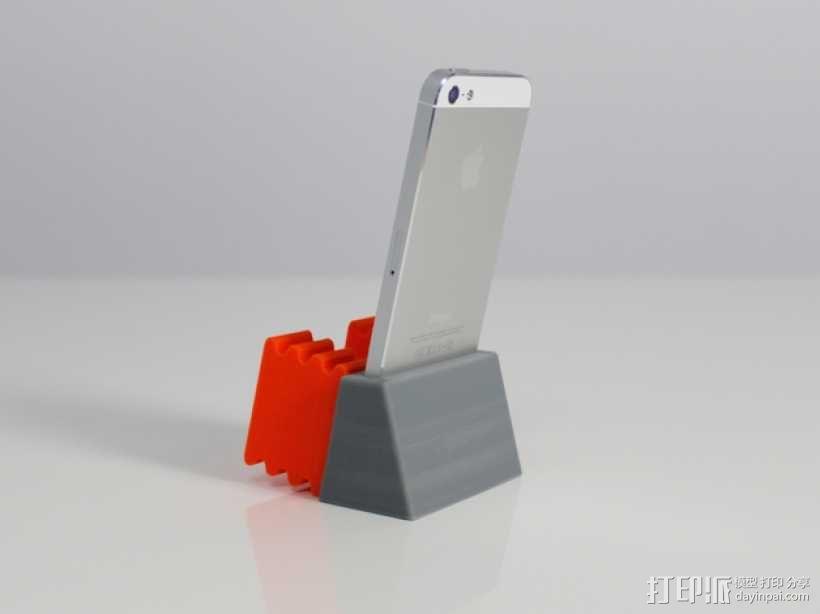 iPhone 5手机扩音器 3D模型  图3