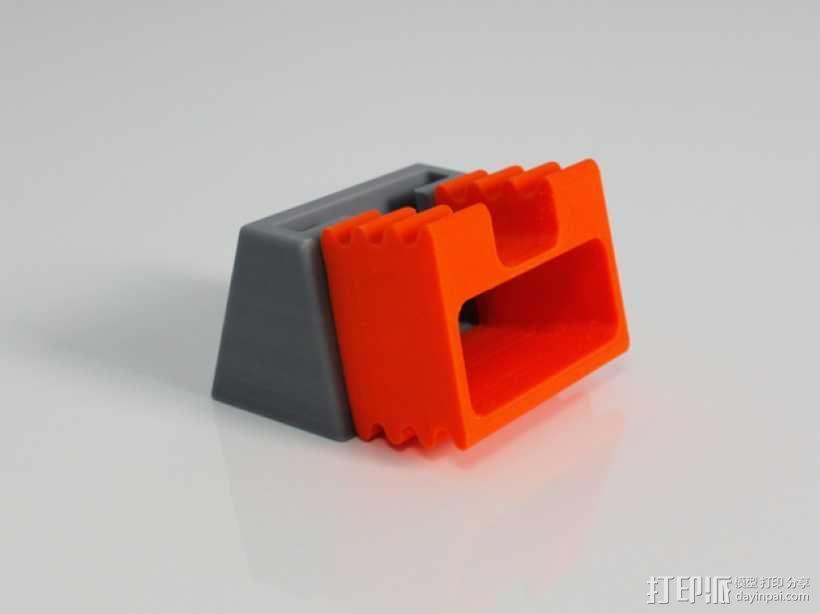 iPhone 5手机扩音器 3D模型  图5
