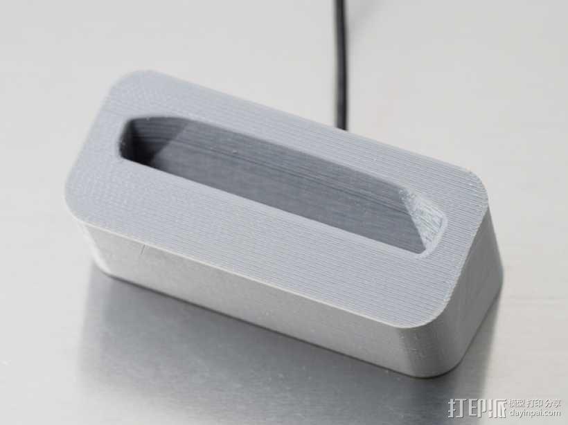手机座 充电座 3D模型  图3