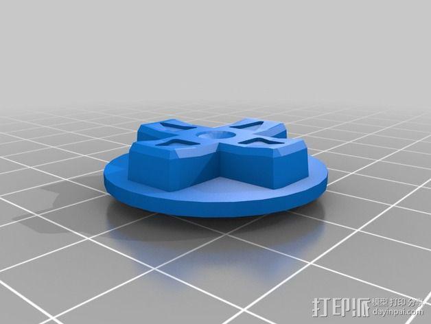 SNES游戏机手柄 3D模型  图13
