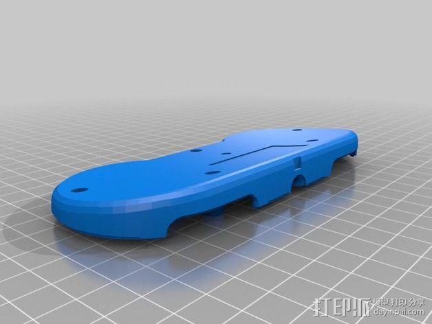 SNES游戏机手柄 3D模型  图11