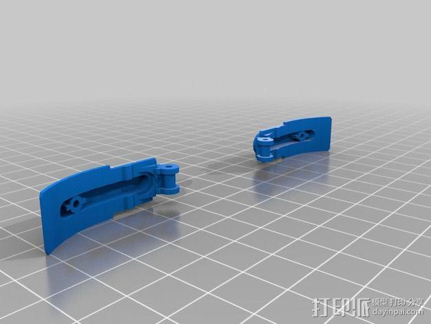 SNES游戏机手柄 3D模型  图12