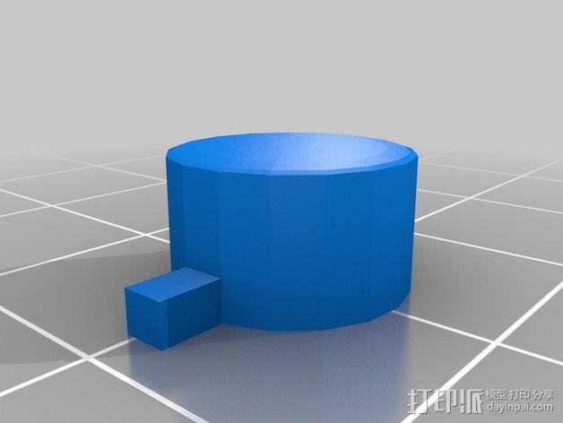 SNES游戏机手柄 3D模型  图14